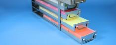 EPPI® drawers racks 140 mm width open