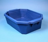 Thorbi insulated container / Without lid, content 9 litres blue