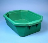 Thorbi insulated container / Without lid, content 9 litres green