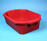 Thorbi insulated container / Without lid, content 9 litres red