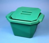 Thorbi insulated container / With lid, content 4,5 litres green