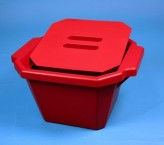 Thorbi insulated container / With lid, content 4,5 litres red
